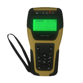 ST332B VDSL tester is multi-functional hand-held VDSL2 test instrument with small size, specially designed for xDSL line test