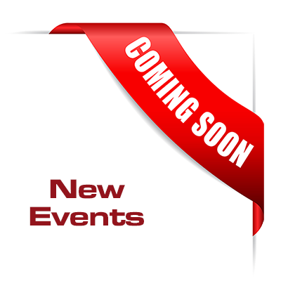 Events in 2018 coming soon